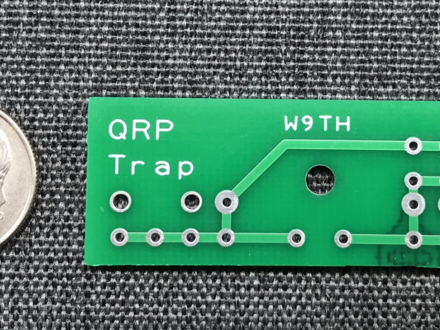 W9TH QRP Antenna Trap